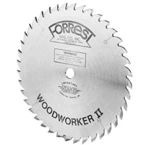 Forrest WW10407100 WoodWorker II 40-Tooth Saw Blade