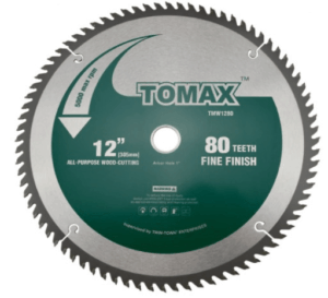 TOMAX-12-Inch-80-Tooth-ATB-Fine-Finish-Saw-Blade